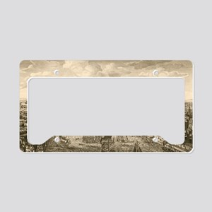 London and the Thames, 18th c License Plate Holder