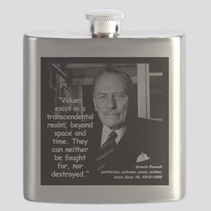 Powell Values Quote 2 Flask