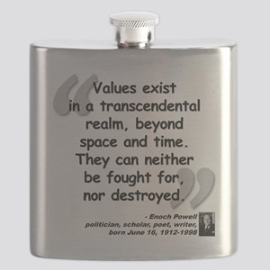 Powell Values Quote Flask