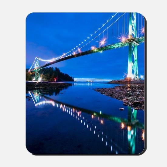 Lions Gate Bridge, Vancouver, Canada Mousepad