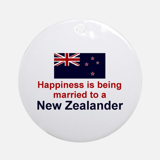 New Zealand-Happily Married Keepsake Ornament