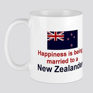 New Zealand-Happily Married Mug