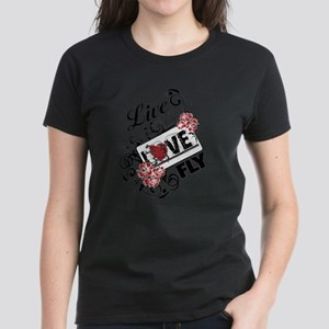 Live Love Fly Women's Shirt - Ligh T-Shirt