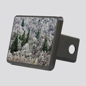 Limestone karst, Turkey Rectangular Hitch Cover