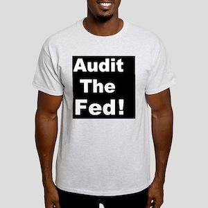Audit the feddbutton Light T-Shirt