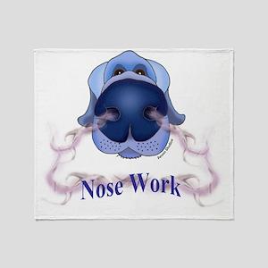 NOSE WORK Throw Blanket