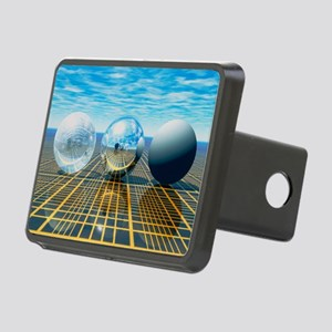 Light reflection from 3 sp Rectangular Hitch Cover