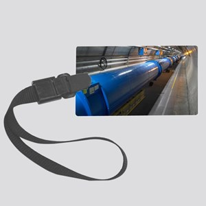 LHC tunnel Large Luggage Tag