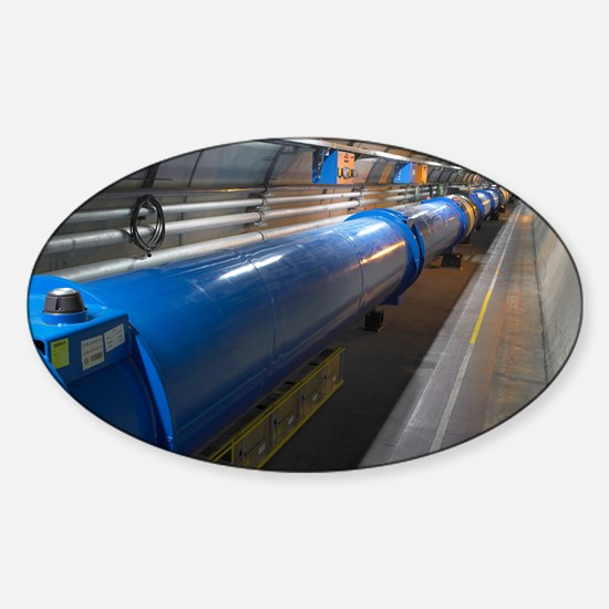 LHC tunnel Sticker (Oval)