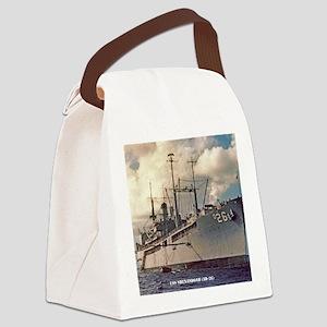 uss shenandoah framed panel print Canvas Lunch Bag