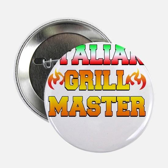 """Italian Grill Master 2.25"""" Button"""