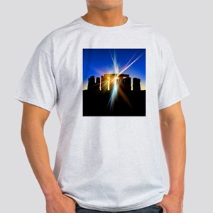 Light flares at Stonehenge, artwork Light T-Shirt