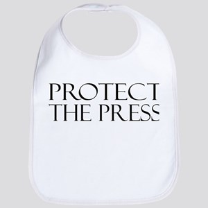 Protect the Press Cotton Baby Bib