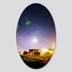 Lens flare Sticker (Oval)