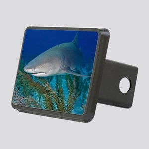 Lemon shark Rectangular Hitch Cover