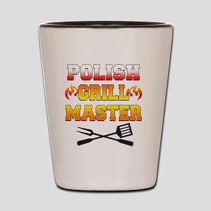 Polish Grill Master Apron Shot Glass