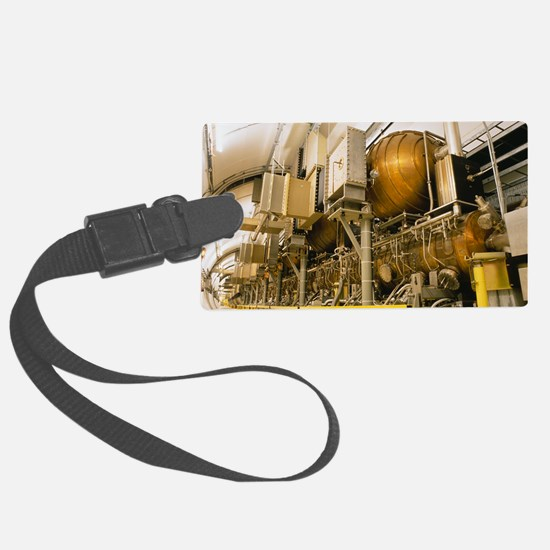 LEP particle collider Luggage Tag