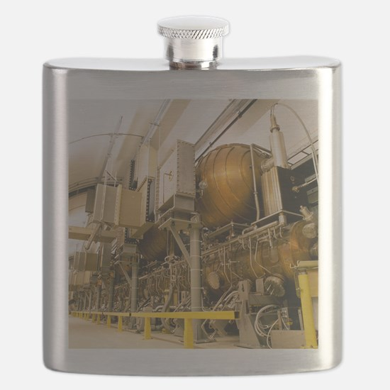 LEP particle collider Flask