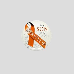 My Son is a Survivor Mini Button