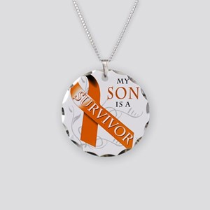 My Son is a Survivor Necklace Circle Charm