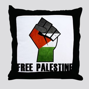 Free Palestine Throw Pillow