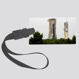 Launch pad, Guiana Space Centre Large Luggage Tag