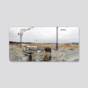 Launch pad assembly, Guiana Aluminum License Plate