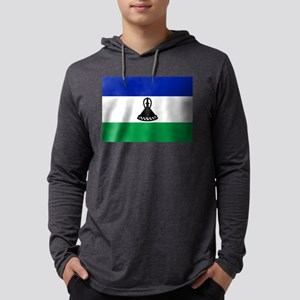 Flag of Lesotho Long Sleeve T-Shirt