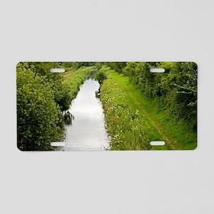 Lancaster Canal, UK Aluminum License Plate