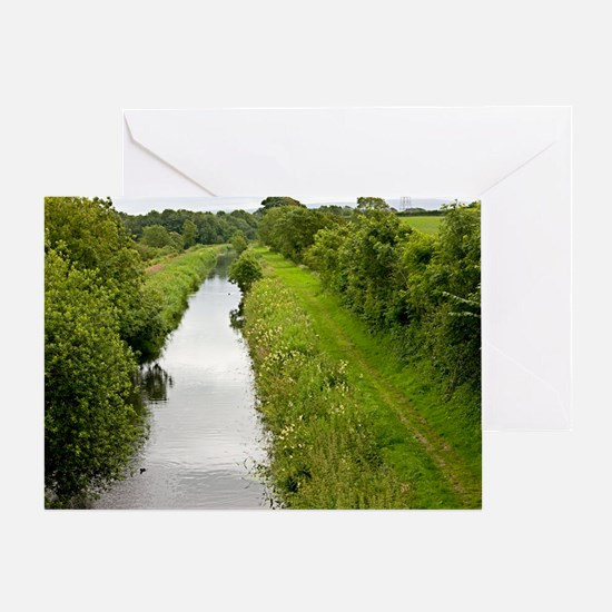 Lancaster Canal, UK Greeting Card