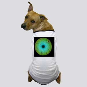 Laue diffraction of enzyme Rubisco Dog T-Shirt