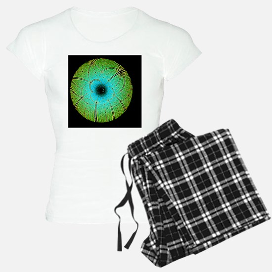 Laue diffraction of enzyme  Pajamas
