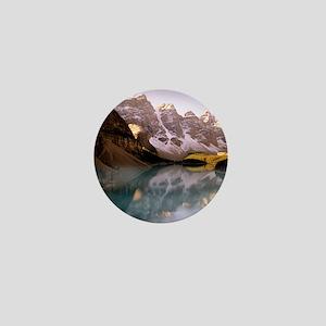 Lake Moraine, Canada Mini Button
