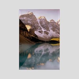 Lake Moraine, Canada Rectangle Magnet