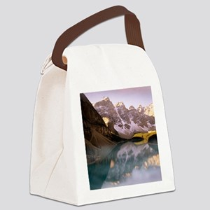 Lake Moraine, Canada Canvas Lunch Bag