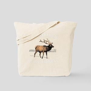 Canadian Elk Tote Bag