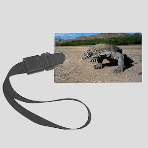 Komodo dragon Large Luggage Tag