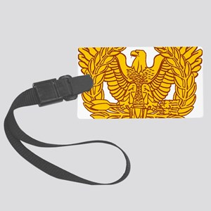 warrant officer eagle Large Luggage Tag