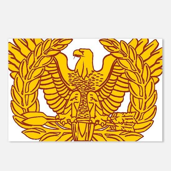 warrant officer eagle Postcards (Package of 8)