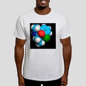Ketamine molecule, recreational drug Light T-Shirt