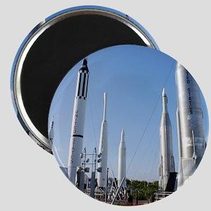 Kennedy Space Center Rocket Garden Magnet