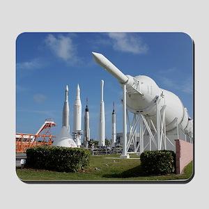 Kennedy Space Center Rocket Garden Mousepad
