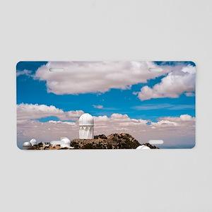 Kitt Peak National Observat Aluminum License Plate