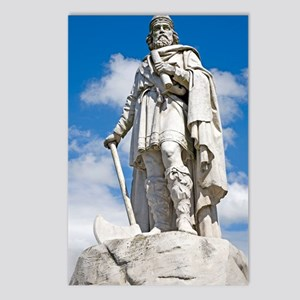 King Alfred the Great of  Postcards (Package of 8)