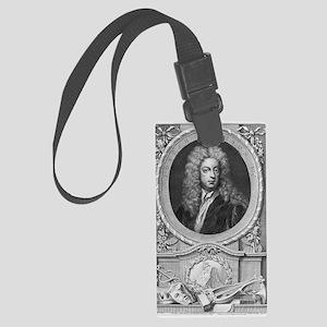 Joseph Addison, English essayist Large Luggage Tag