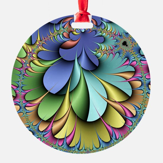 Julia fractal Ornament
