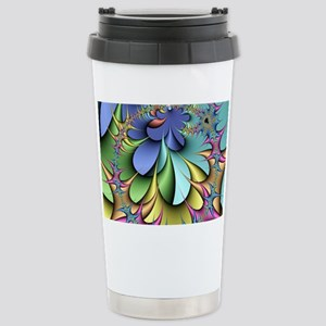 Julia fractal Stainless Steel Travel Mug