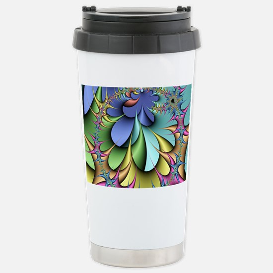 Julia fractal Stainless Steel Travel Mug