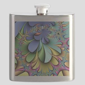 Julia fractal Flask
