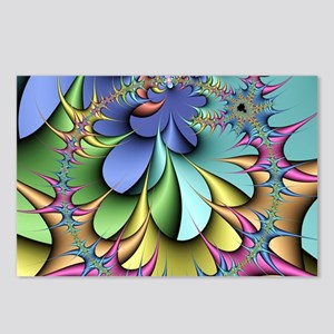 Julia fractal Postcards (Package of 8)